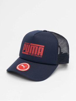 Puma Performance Trucker Cap Style blue