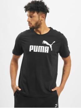 Puma Performance Urheilu T-paidat ESS Logo musta