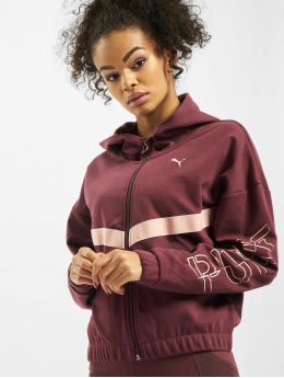 Puma Performance Veste mi-saison légère Hit Feel It Sweat rouge