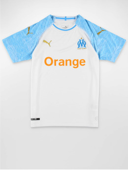 Puma Performance Voetbal tricots Olympique de Marseille Home Replica wit