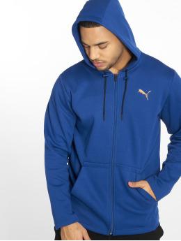 Puma Performance Zip Hoodie VENT niebieski