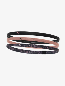 Puma Performance zweetbandje At Sportbands Womens Pack (3PCS) zwart