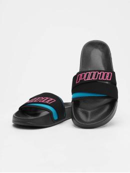 Puma Leadcat TZ Sandals Puma Black/Fuchsia Purple