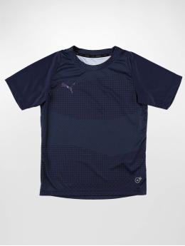 Puma Shirts de Sport ftblNXT Graphic Core JR bleu