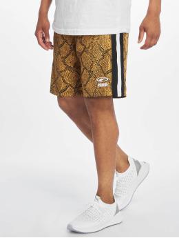 Puma Snake Pack Luxtg Wooven Shorts Sunflower