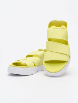 Puma Slipper/Sandaal Cali Sandal X SG geel