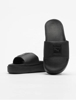 Puma Slipper/Sandaal Platform Slide zwart