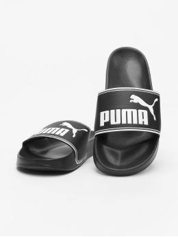 Puma Slipper/Sandaal Leadcat zwart