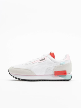 Puma Sneaker Future Rider Neon Play bianco