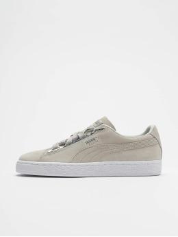 Puma sneaker Suede Jewel Metalic grijs