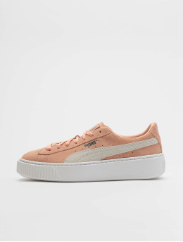 Puma Sneaker Suede rosa chiaro