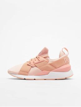 Puma Sneaker Muse Satin Ep rosa chiaro