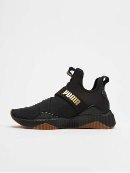 Puma Sneaker Defy Mid Sparkle schwarz