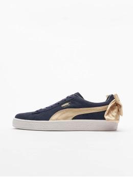 Puma Sneakers Suede Bow Varsity blå