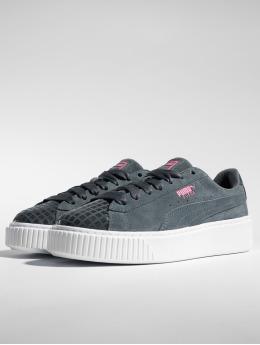 Puma Sneakers Suede Platform Street 2 grå