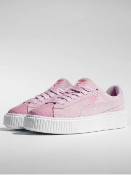 Puma Sneakers Suede Platform Street 2 rosa