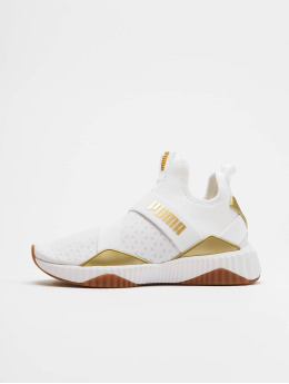 Puma Sneakers Defy Mid Sparkle white