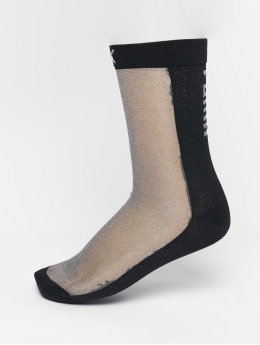 Puma Socks Selena Gomez Transparancy Front  black
