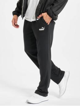 Puma Spodnie do joggingu Essentials Logo TR OP SRL czarny
