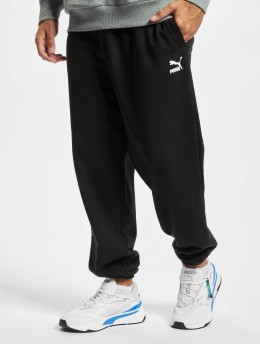 Puma Spodnie do joggingu Classics Oversized  czarny