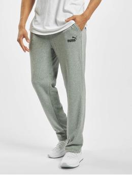 Puma Spodnie do joggingu Essentials Logo TR OP SRL Logo szary