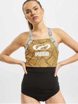 Puma Strój kąpielowy Snake czarny