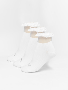 Puma Sukat Selena Gomez Ruffle Short valkoinen