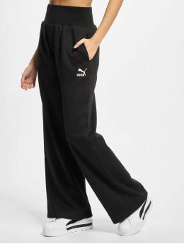 Puma Sweat Pant Fashion Wide Leg FL black