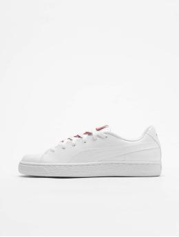 Puma Tøysko Basket Crush Sneakers hvit
