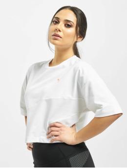 Puma T-Shirt Evide Form Stripe blanc