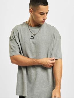 Puma t-shirt Classics Boxy grijs