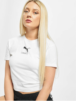 Puma T-Shirt Nu-Tility Fitted weiß