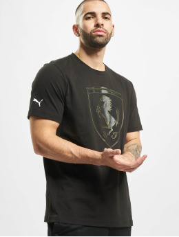 Puma t-shirt SF Big Shield zwart