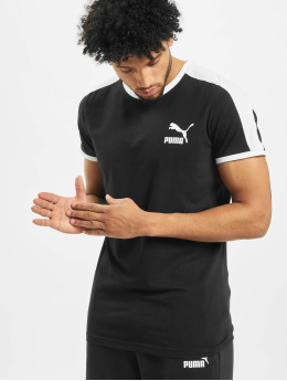 Puma t-shirt Iconic T7  zwart