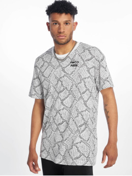 Puma T-Shirty Snake Pack Aop bialy
