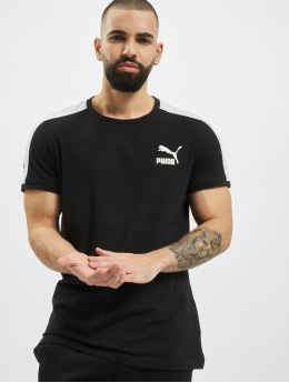 Puma T-Shirty Iconic T7 Slim  czarny