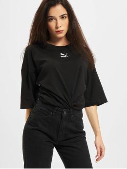 Puma T-Shirty Loose czarny