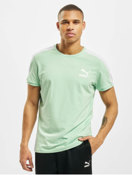 Puma T-Shirty Iconic T7 Slim zielony