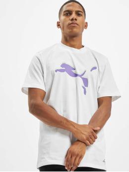 Puma T-skjorter Avenir Graphic hvit