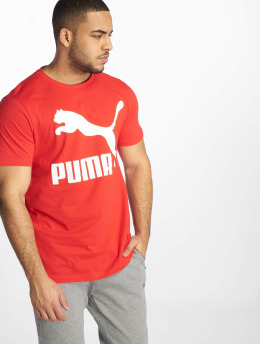 Puma T-skjorter Classics Logo red