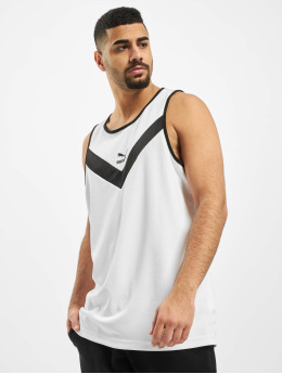 Puma Tank Tops Iconic MCS bialy