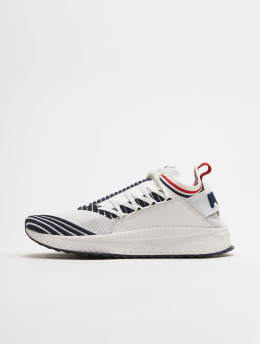 Puma Tennarit Tsugi Jun Sport Stripes valkoinen