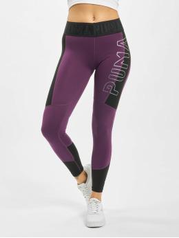 Puma Tights Logo 7/8 fialový