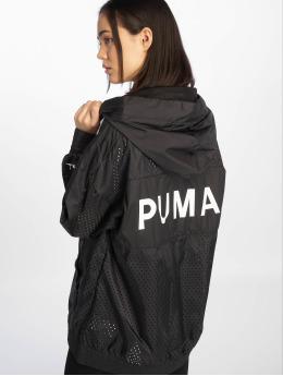 Puma   Chase Woven  noir Femme Veste mi-saison légère