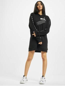 Puma Vestido Amplified Hooded  negro