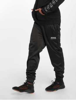 Pusher Apparel Jogging kalhoty Athletics čern