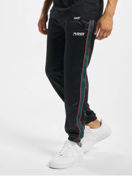 Pusher Apparel joggingbroek Hustle zwart