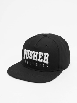 Pusher Apparel Snapback Caps Athletics svart