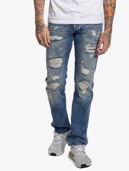 Red Bridge Straight Fit Jeans Stinson blau
