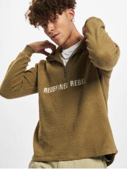 Redefined Rebel Bluzy z kapturem RRChristian  oliwkowy